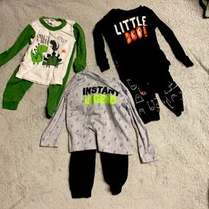 3 24 months PJs, & Under Armour play outfit